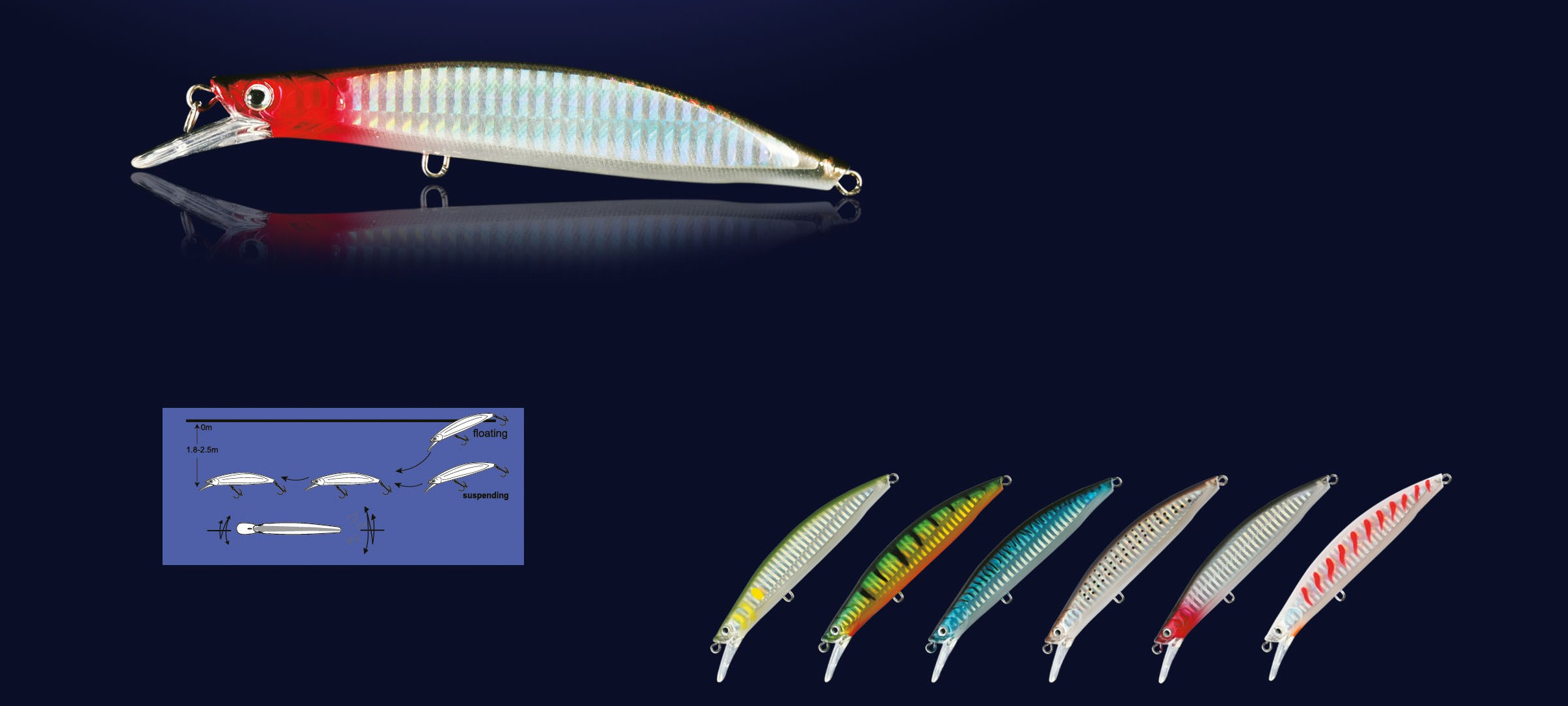 Nomura Salty Floating Lure