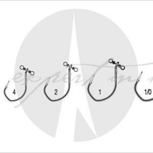 VMC 7119 Spin Shot Hooks