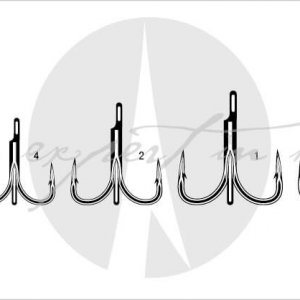 VMC 7556 Treble Hooks 75 Series