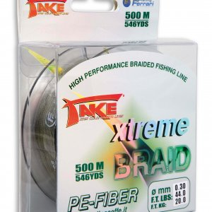 Take Xtreme Braid *500 Mts Green