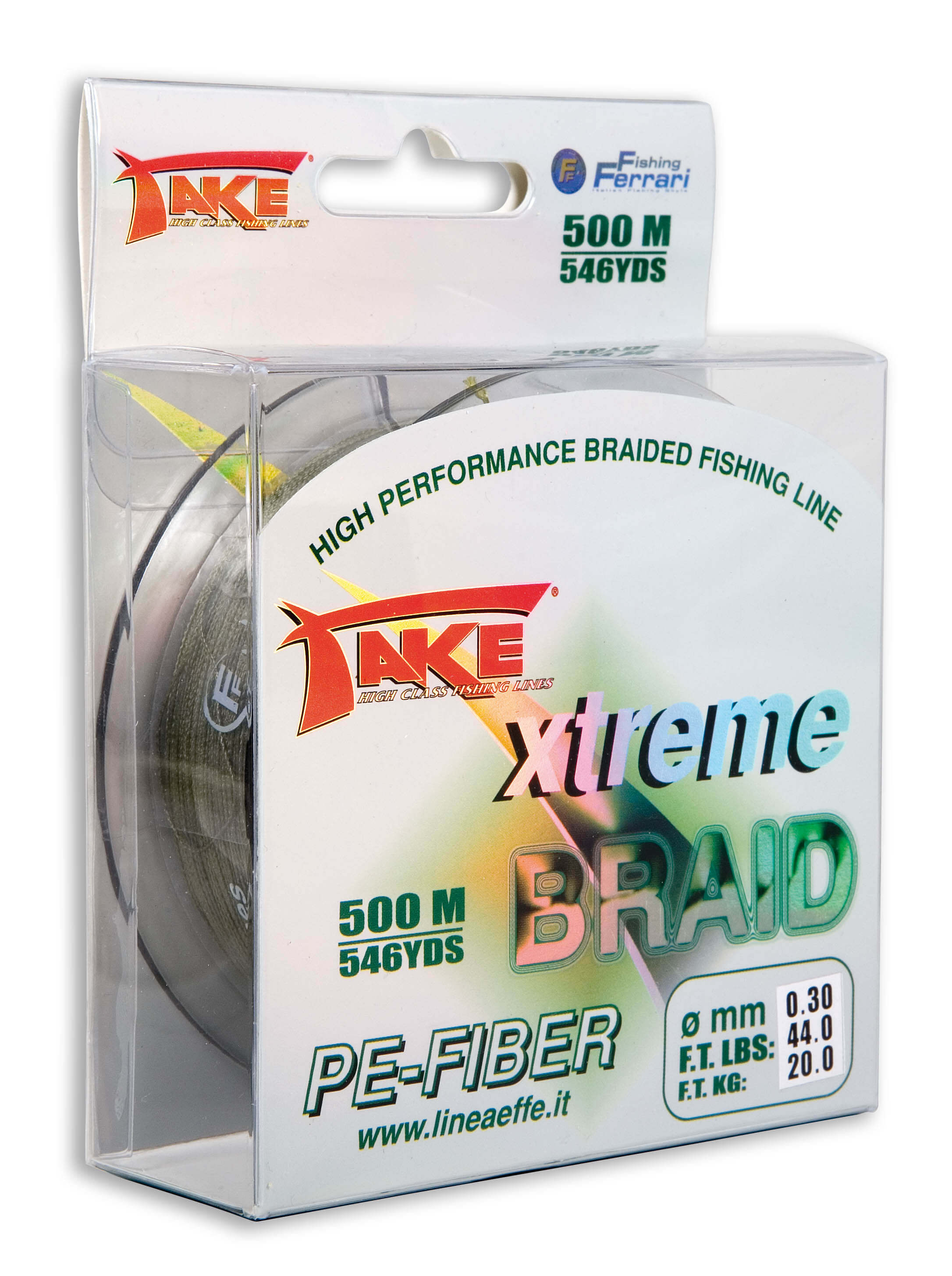Take Braid Green