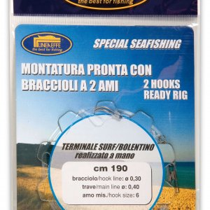Trace * 2 Hooks Deep And Surf Casting